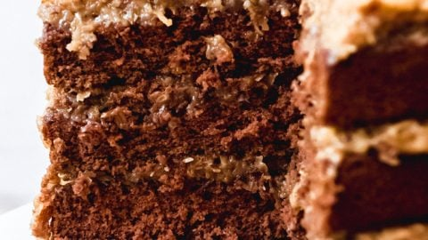 The BEST Homemade German Chocolate Cake