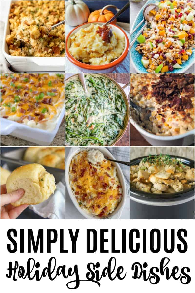 Simply Delicious Holiday Side Dishes