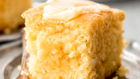 Moist Cottage Cheese Cornbread