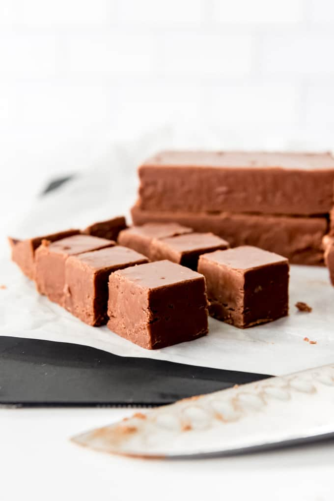 Creamy Easy Chocolate Fudge
