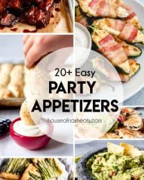 20+ Easy party appetizers