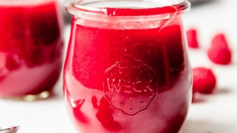 Easy Raspberry Coulis Dessert Sauce