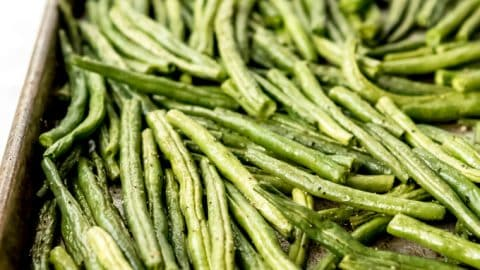 Tender Roasted Green Beans