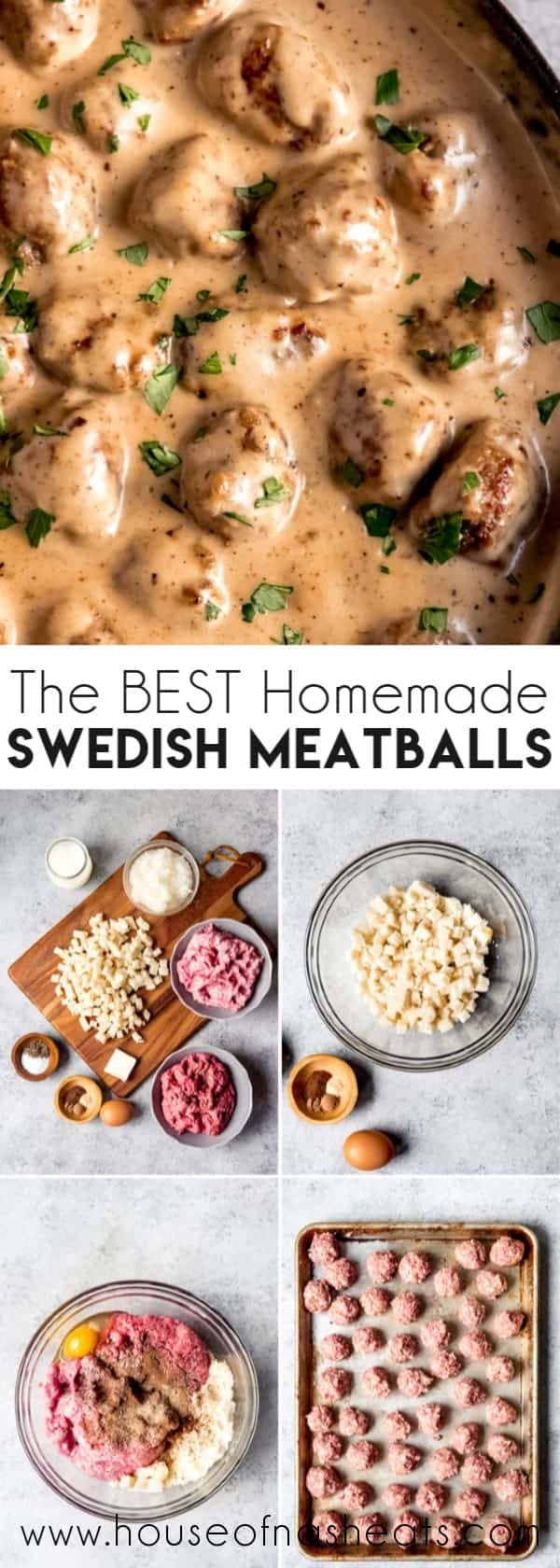 Easy Swedish Meatballs In A Creamy Sauce House Of Nash Eats