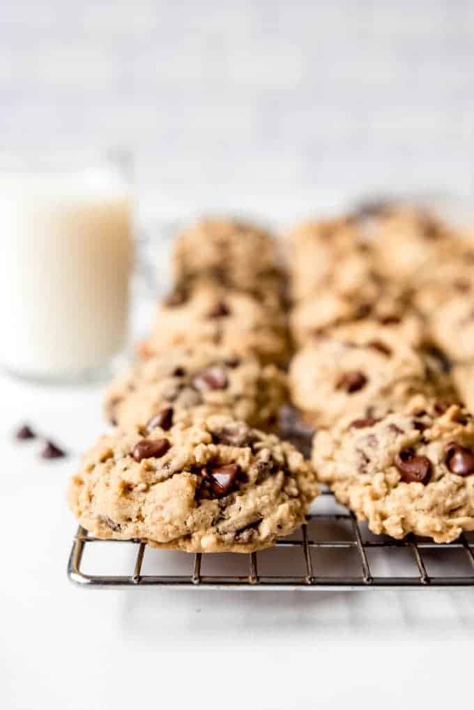 Classic Oatmeal Chocolate Chip Cookies - House of Nash Eats