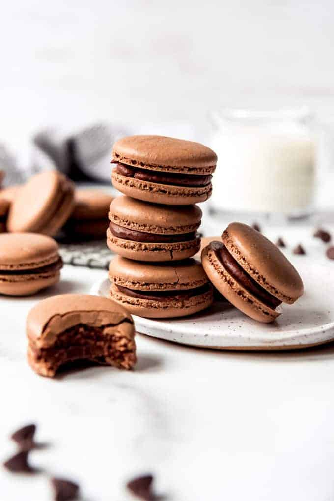 Classic French Chocolate Macarons With Video House Of Nash Eats