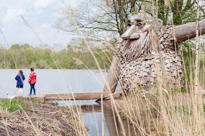The Teddy Friendly giant sculpture in Denmark.