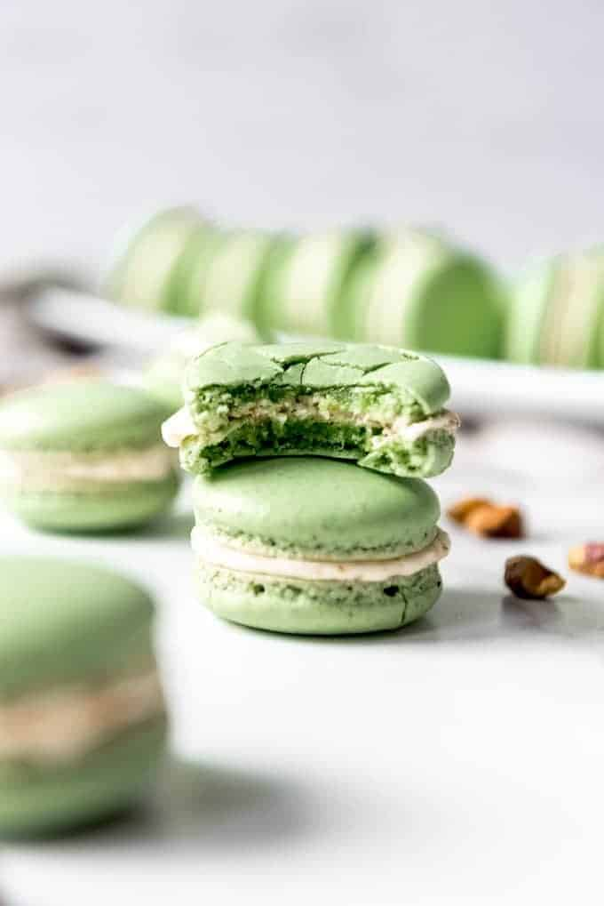 Pistachio Macarons House Of Nash Eats