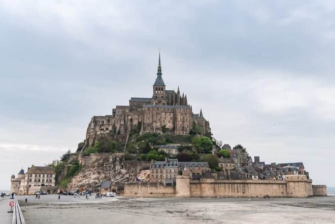 An image of Mont Saint-Michel.