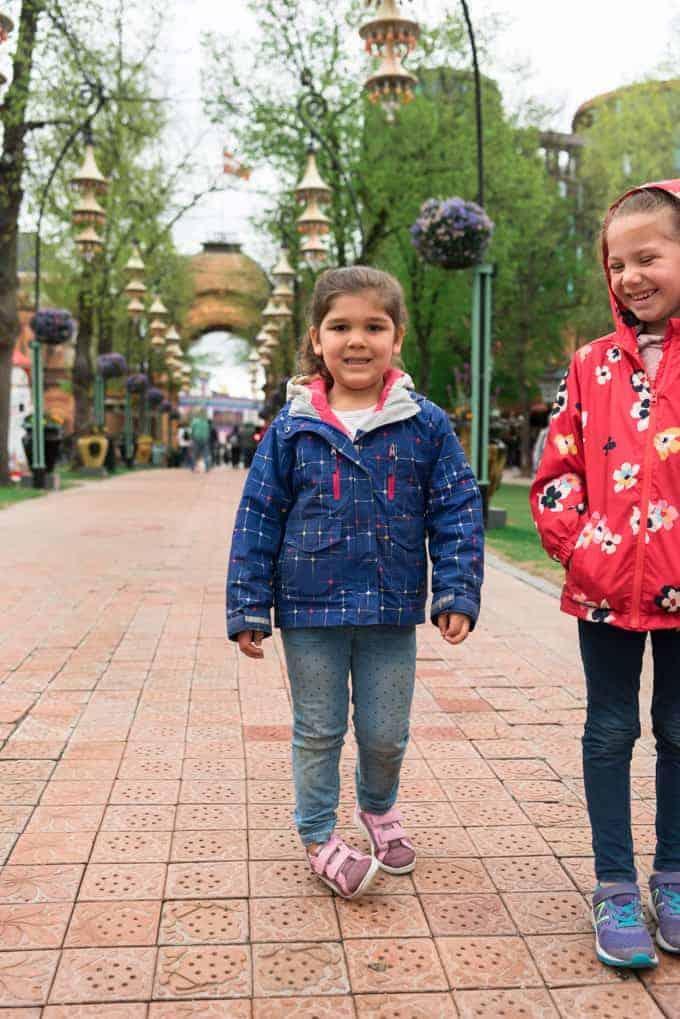 Children in Tivoli Gardens.