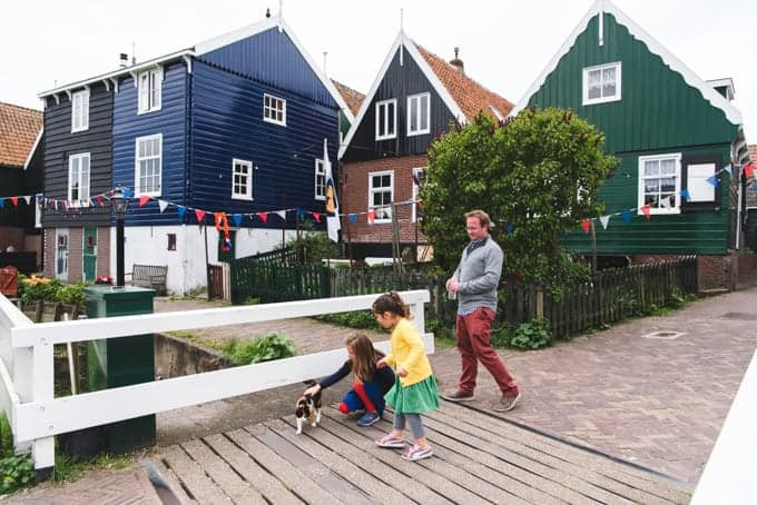 An image of the village of Marken, Netherlands.