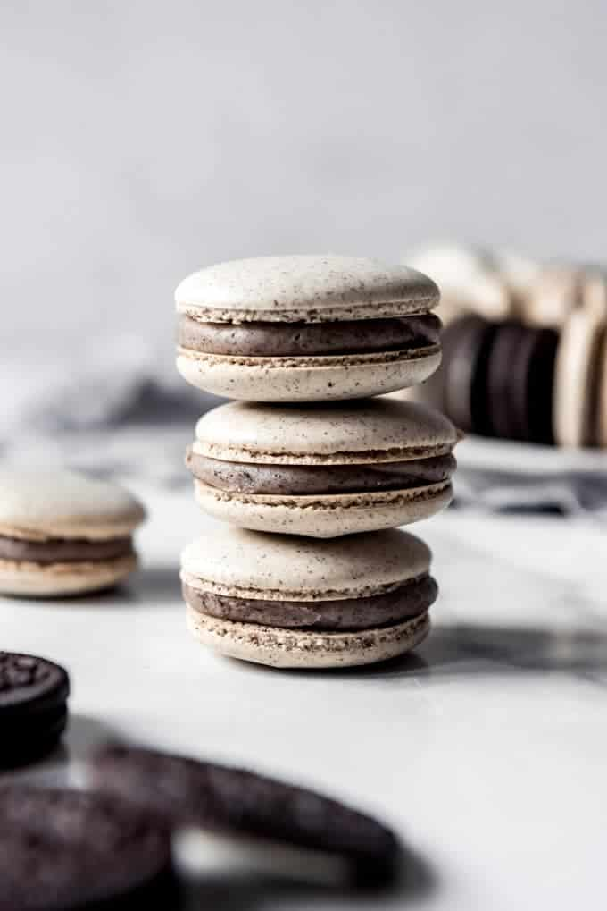 Cookies And Cream Macarons House Of Nash Eats