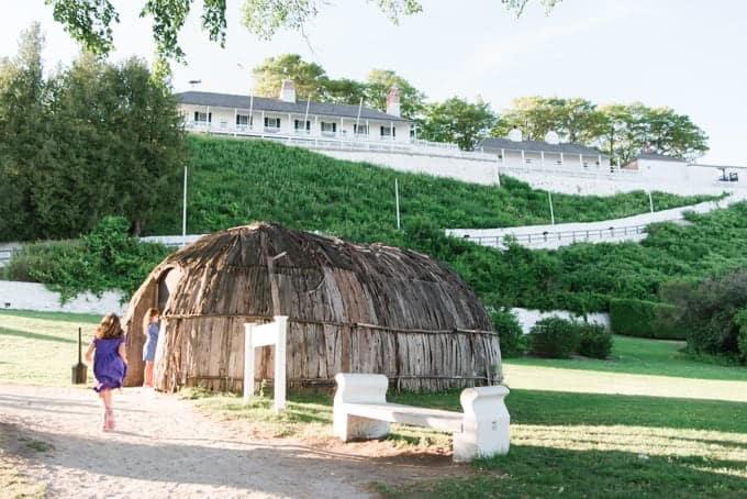 Fort Mackinac in Michigan.