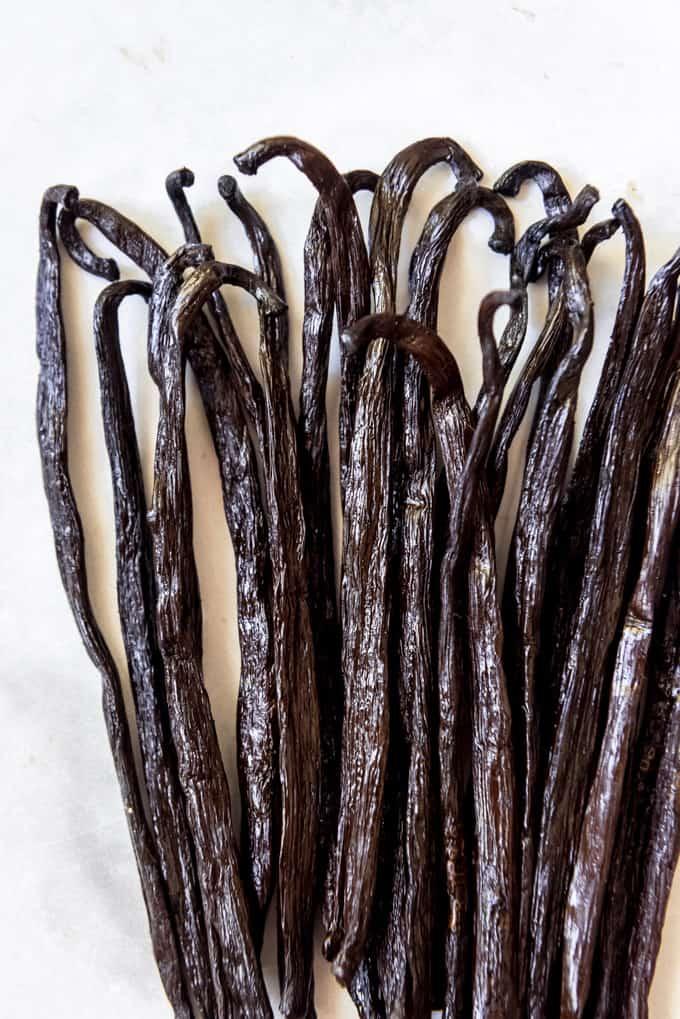 Grade B vanilla beans
