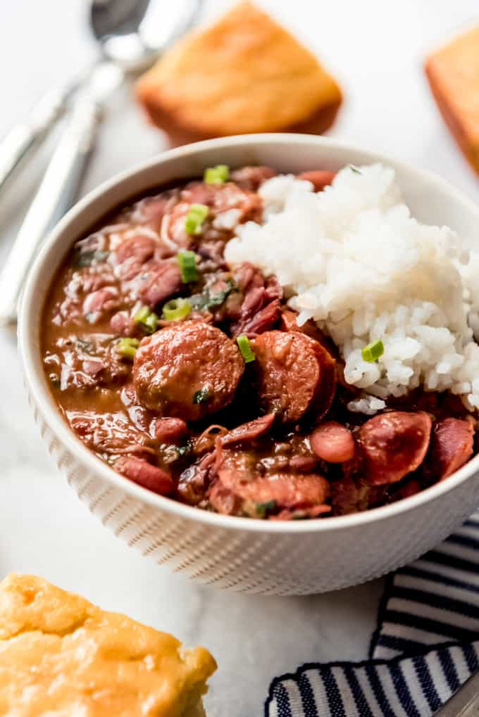 cornbread rice and beans