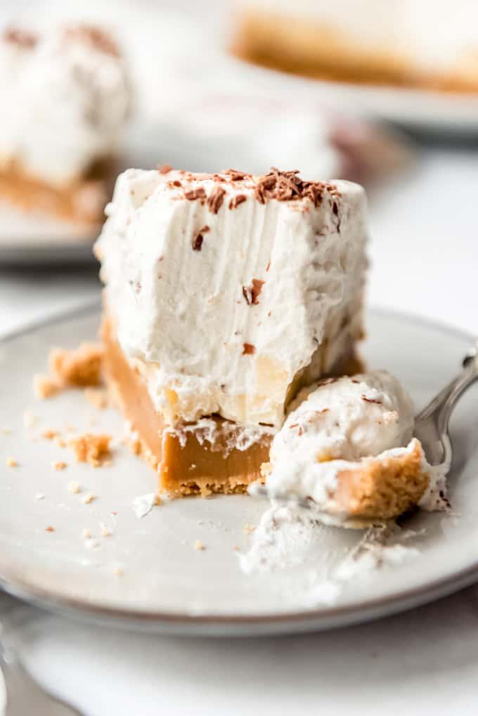 A bite of Banoffee Pie