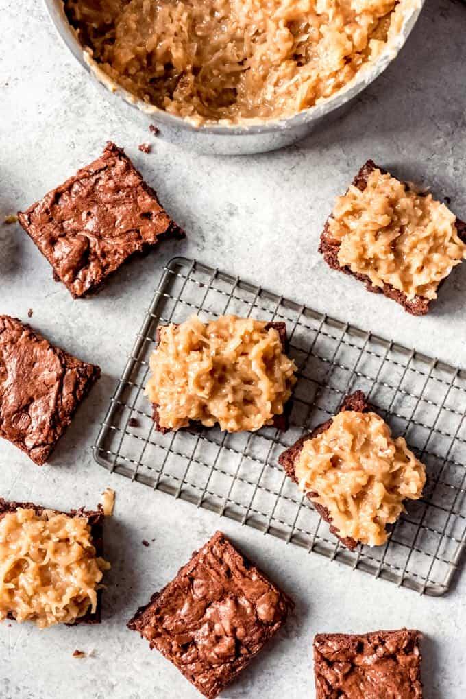 overhead the best brownies