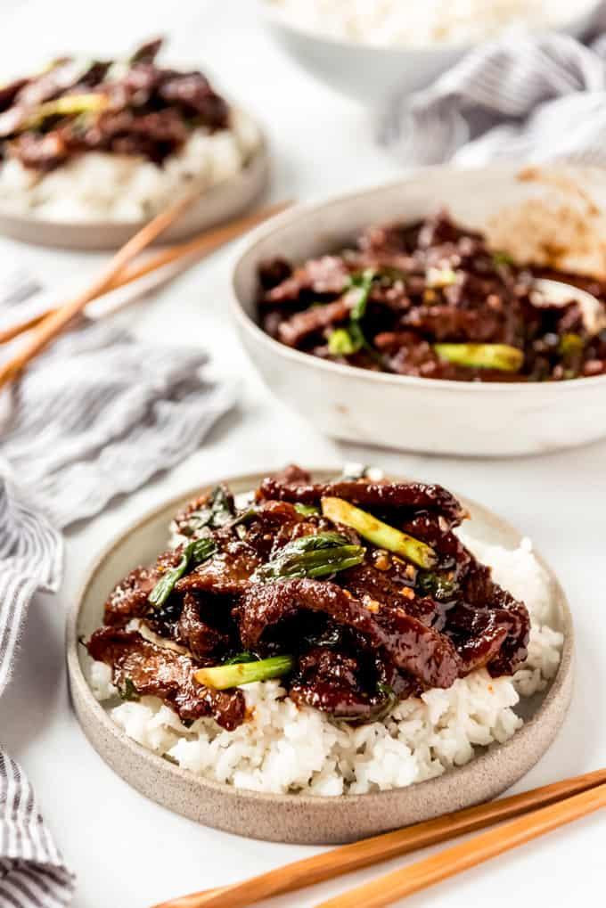 copycat P.F. Changs Mongolian Beef Recipe