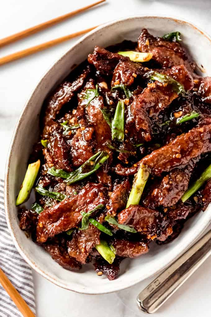 Mongolian Beef Ready to serve