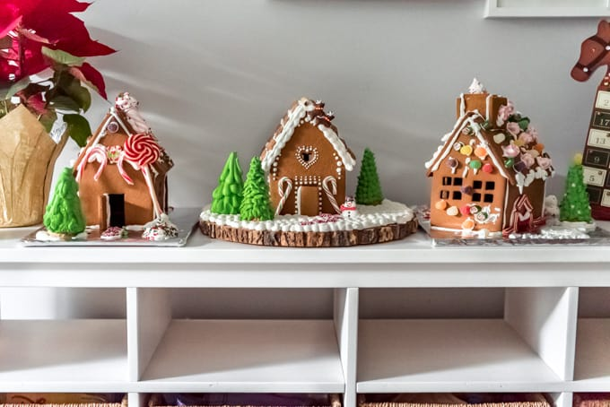 Gingerbread houses on display