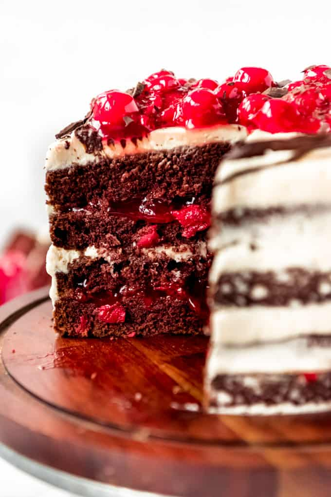Aunt Becky's Black Forest Cake