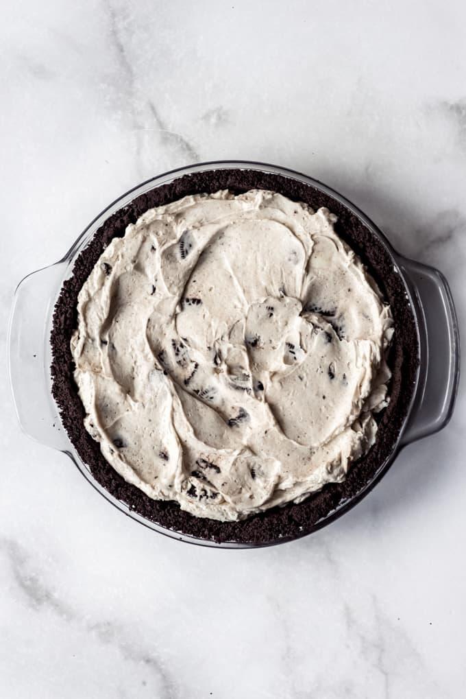 add filling to crust