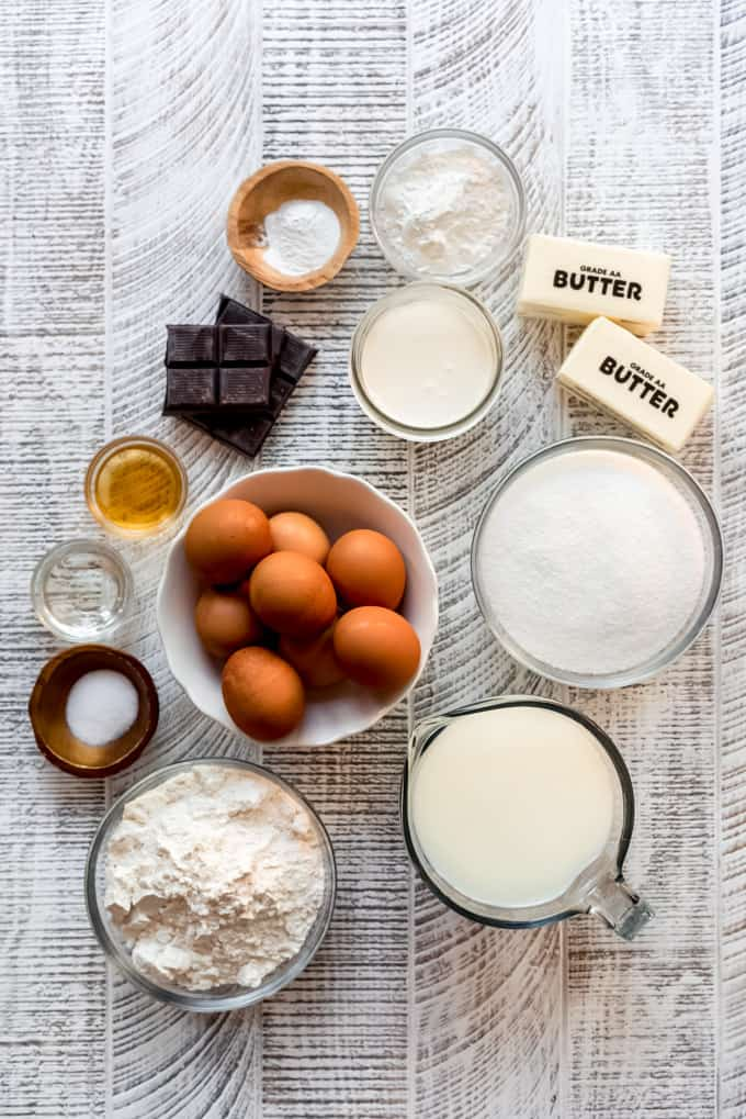 boston cream pie ingredients