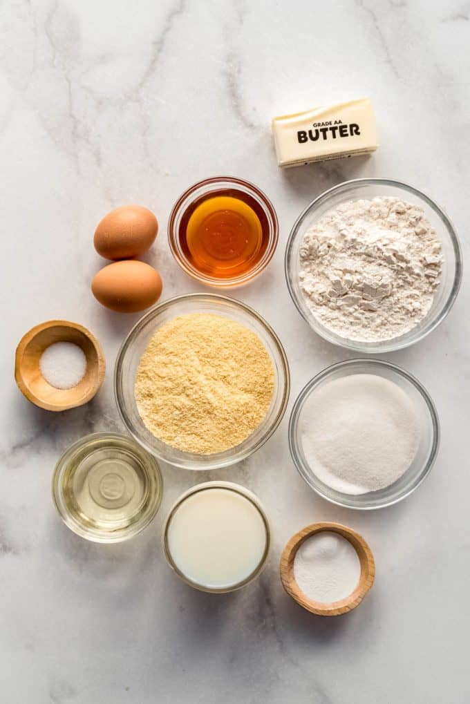 corn muffin ingredients